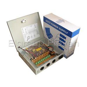 Захранващ блок 9-канален, 12VDC-10A-120W, MPS-PTC120-A9