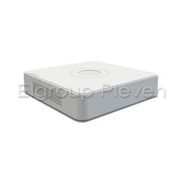 4-КАНАЛЕН NVR, 4-PoE порта, 4MP, HIKVISION DS-7104NI-Q1-4P