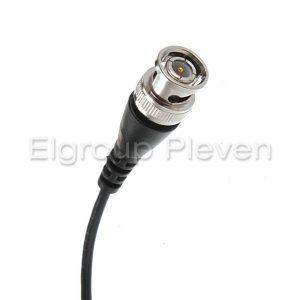 BNC конектор с изведен кабел