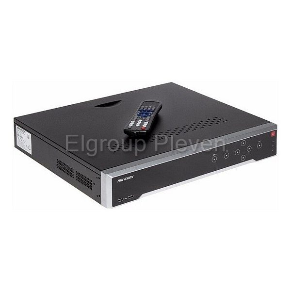 32-канален NVR, HIKVISION DS-7732NI-K4-16P, 4K-8MP, 16-PoE порта