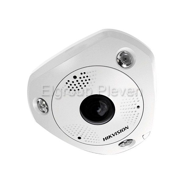 IP 6MP панорамна Fisheye камера, HIKVISION DS-2CD6365G0-I