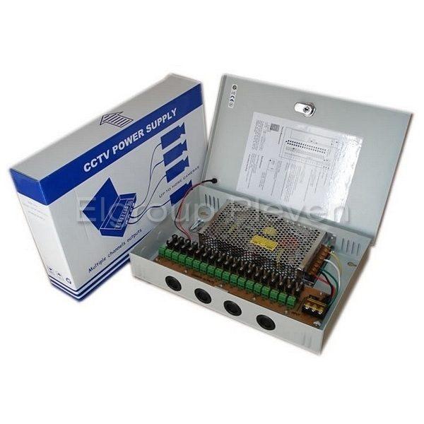 Захранващ блок 18-канален, 12VDC-25A-300W, MPS-PTC300-A18