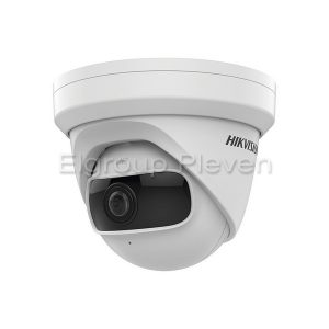 4MP Super Wide Angle Network Camera, HIKVISION DS-2CD2345G0P-I
