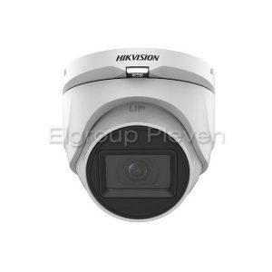 5MP HDTVI Audio куполна камера, HIKVISION DS-2CE76H0T-ITMFS