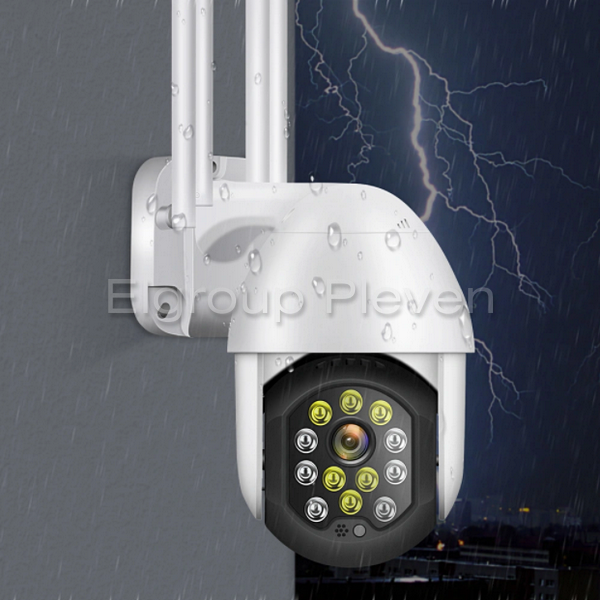 2MP Wi-Fi PTZ Audio управляема камера, YCC365Plus P11-12