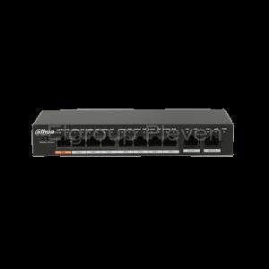 10-портов PoE мрежов комутатор, DAHUA PFS3010-8ET-96