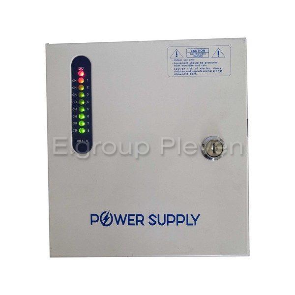 Захранващ блок 8-канален, 12VDC-5A-60W, CV-PSU-DC120805