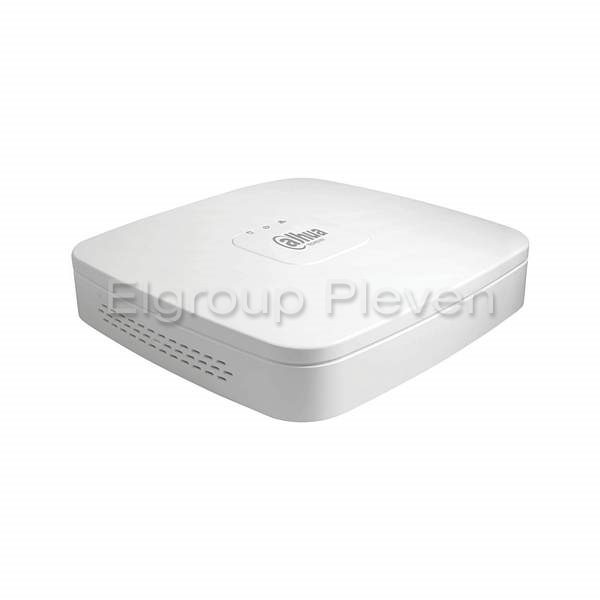 4-канален NVR 12MP, H.265, WizSense, DAHUA NVR2104-I