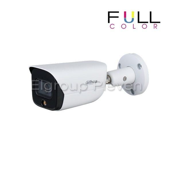 2MP Full-color, IP корпусна камера DAHUA IPC-HFW3249E-AS-LED